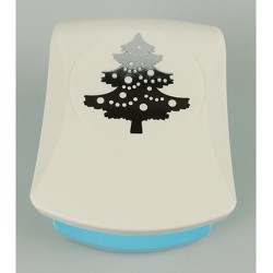 (EBPJ008)Nellie's Choice Embossing Punch Large Christmas tree