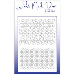 (JNDM0001)John Next Door Stencil Duo Mask Waves