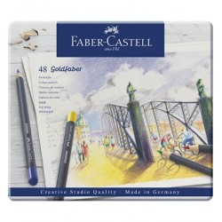 (114748)Faber Castell Goldfaber color pencil 48 pcs