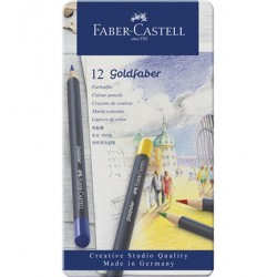 (114712)Faber Castell Goldfaber color pencil 12 pcs