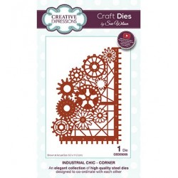 (CED25005)Craft Dies - Industrial Chic - Corner