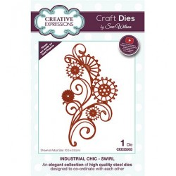 (CED25003)Craft Dies - Industrial Chic - Swirl