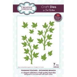 (CED1492)Craft Dies - The Finishing Touches Collection - Sycamore Branch