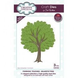 CED1494)Craft Dies - The Finishing Touches Collection - Majestic Tree
