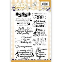 (PMCS10024)Textstamp - Precious Marieke - Early Spring