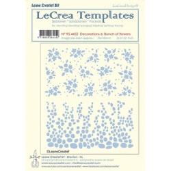(95.4452)LeCrea Templates Bunch of flowers