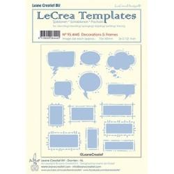 (95.4445)LeCrea Templates Frames