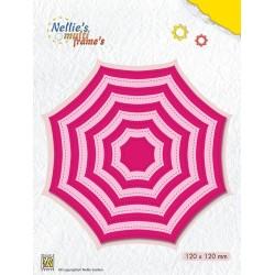"""(MFD114)Nellie's Multi Frame Dies """"Octagon/Spiderweb"""""""