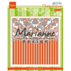 (DF3443)Marianne Design Folder + Die Anja's ornamental border