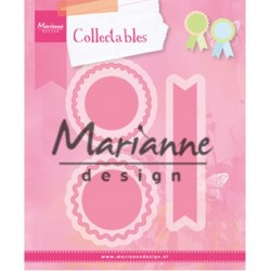 (COL1444)Collectables Rosettes & labels