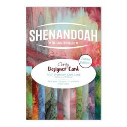 (ACC-CA-30555-57)CLARITY DESIGNER CARD PETITE EDITION: SHENANDOAH