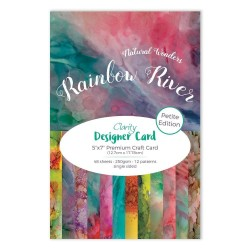 (ACC-CA-30556-57)CLARITY DESIGNER CARD PETITE EDITION: RAINBOW RIVER