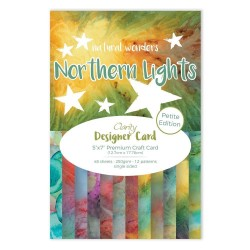 (ACC-CA-30553-57)CLARITY DESIGNER CARD PETITE EDITION: NORTHERN LIGHTS