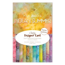 (ACC-CA-30554-57)CLARITY DESIGNER CARD PETITE EDITION: INDIAN SUMMER