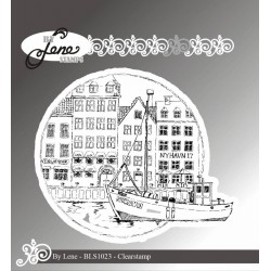 (BLS1023)By Lene Nyhavn Clearstamp