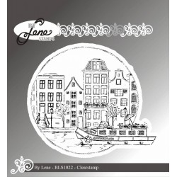 (BLS1022)By Lene Amsterdam Clearstamp