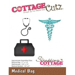 (CC-392)Scrapping Cottage CottageCutz Medical Bag