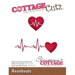 (CC-390)Scrapping Cottage CottageCutz Heartbeats