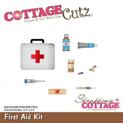 (CC-389)Scrapping Cottage CottageCutz First Aid Kit