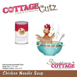 (CC-388)Scrapping Cottage CottageCutz Chicken Noodle Soup