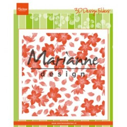 (DF3446)Marianne Design Folder Blossom