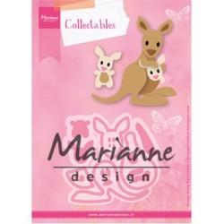 (COL1446)Collectables Eline's Eline's kangaroo & baby