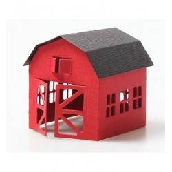 (HSFD021)Hobby Solution dies Farm house