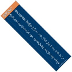(GRO-WO-40889-09)Groovi Border Plate MINI WORD CHAINS:INSPIRATIONAL WORDS & CONGRATULATIONS