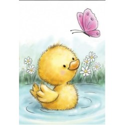 (CL513)Wild Rose Studio`s A7 stamp set Little Duck