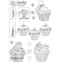 PrettyCardz Cupcakes A5 parchment papier