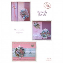 Q4 Cardz Butterfly flowers
