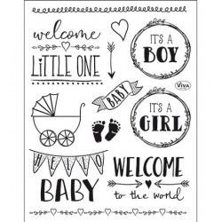 (4003 166 00)Clear Stamps - Hello Baby