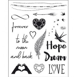(4003 167 00)Clear Stamps - Forever