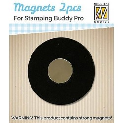 (STBM001)Nellie`s Choice 2 magnets for Stamping Buddy Pro