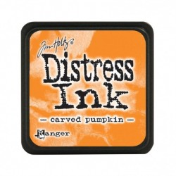 TDP47377)Distress mini ink carved pumpkin