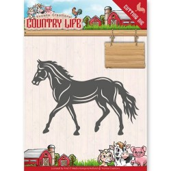 (YCD10127)Dies - Yvonne Creations - Country Life Horse