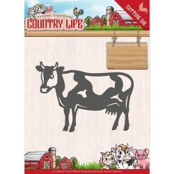 (YCD10128)Dies - Yvonne Creations - Country Life Cow