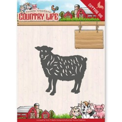 (YCD10129)Dies - Yvonne Creations - Country Life Sheep
