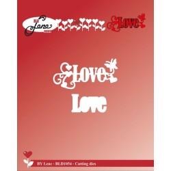 (BLD1054)By Lene Love Cutting Die