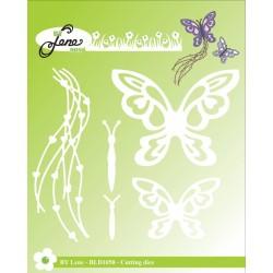 (BLD1058)By Lene Butterflies Cutting Die
