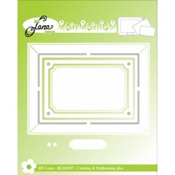 (BLD1057)By Lene Photo Frame Cutting & Embossing Die