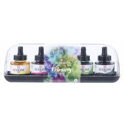 (11259900)Talens Ecoline Liquid Watercolour Set Primary 5x30ml