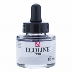 (11257381)Talens Ecoline Liquid Watercolour 30ml 738 Cold Grey Light