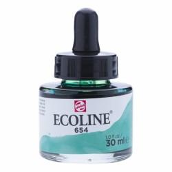 (11256541)Talens Ecoline Liquid Watercolour 30ml 654 Fir Green