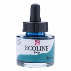 (11256401)Talens Ecoline Liquid Watercolour 30ml 640 Blue Green