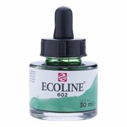 (11256021)Talens Ecoline Liquid Watercolour 30ml 602 Deep Green