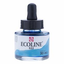(11255221)Talens Ecoline Liquid Watercolour 30ml 522 Turquoise Blue