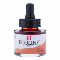 (11253111)Talens Ecoline Liquid Watercolour 30ml 311 Vermilion