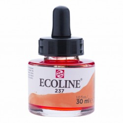 (11252371)Talens Ecoline Liquid Watercolour 30ml 237 Dark Orange
