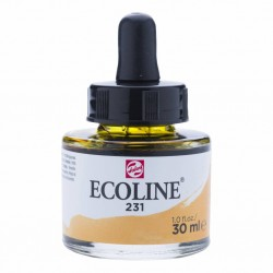 (11252311)Talens Ecoline Liquid Watercolour 30ml 231 Gold Ochre